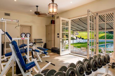 Phòng tập gym hiện đại sẽ làm hài lòng mọi vị chủ nhân yêu thích việc luyện tập