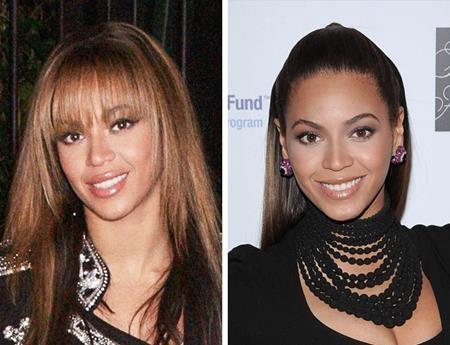 Chỉ khác nhau mỗi kiểu tóc mà trông Beyoncé như thể đã trẻ lại vài ba tuổi
