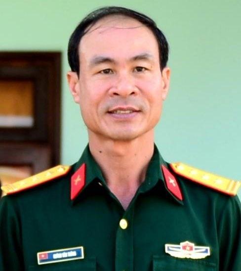Thượng tá Huỳnh Văn Trông.