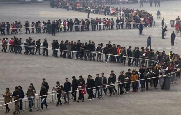 Những bức ảnh khiến bạn sửng sốt về tình trạng dân số ở Trung Quốc - 14