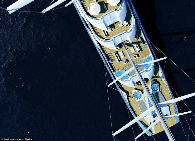 Những thiết kế siêu du thuyền mới nhất dành cho tỉ phú - 14