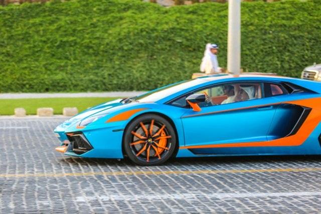 Siêu xe thể thao đã quá phổ biến tại Qatar.