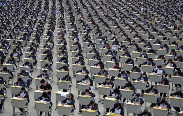 Những bức ảnh khiến bạn sửng sốt về tình trạng dân số ở Trung Quốc - 15
