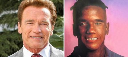 """Điểm khác biệt duy nhất giữa hai """"Arnold Schwarzenegger"""" này có lẽ chỉ là màu da"""