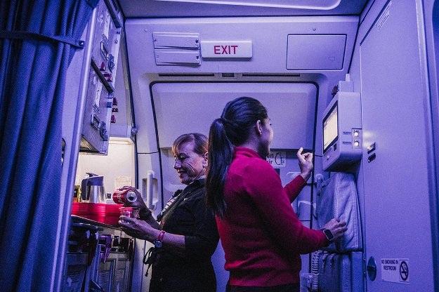 Các tiếp viên hàng không làm gì khi không phải phục vụ khách? - 18