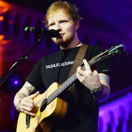 """Ca khúc mới """"Castle on the hill"""" của Ed Sheeran đang nhận được nhiều sự chú ý"""