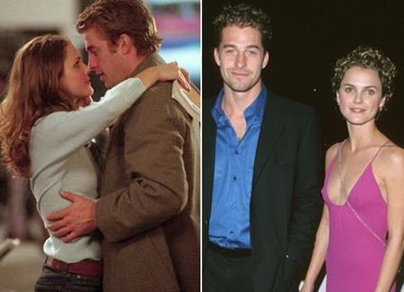 """Người đẹp Keri Russell cũng từng hẹn hò với nam đồng nghiệp Scott Speedman khi cả hai đóng chung trong bộ phim truyền hình """"Felicity""""."""