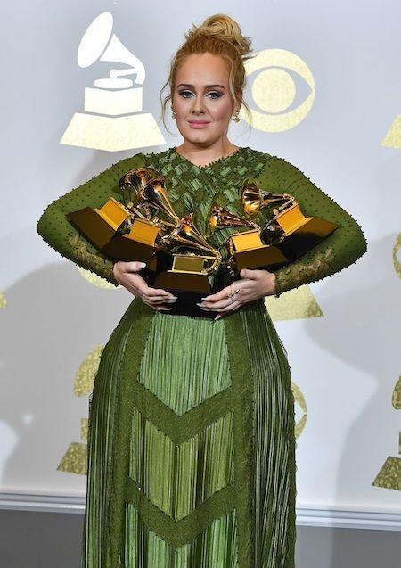Thắng lớn tại lễ trao giải Grammy nhưng Adele vẫn bị chế giễu