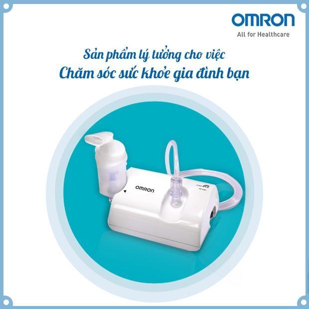 Máy xông mũi họng Omron NE-C801 - Giải pháp tuyệt vời cho bệnh hô hấp