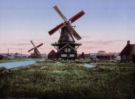 Bộ ảnh về đất nước Hà Lan những năm 1890s qua các tấm bưu thiếp - 2