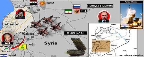 Israel đã tung một đòn cảnh báo với Nga ở Golan.