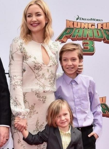 Do Kate Hudson quá nóng bỏng nên không nhiều người nhận ra rằng nữ diễn viên tóc vàng sớm đã là một bà mẹ hai con và Kate thực ra đã sinh hạ cậu con trai đầu lòng Ryder Robinson khi mới 24 tuổi