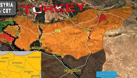 Người Kurd hiện chiếm giữ hơn 22% lãnh thổ Syria