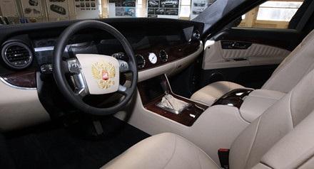 Lộ diện những bức ảnh đầu tiên siêu xe bí mật của ông Putin - 3