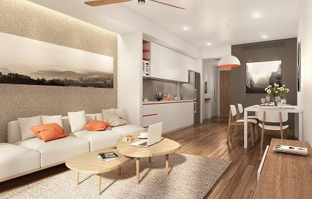 Ariyana cao 28 tầng với 394 căn hộ- khách sạn có diện tích từ 49 – 114m2
