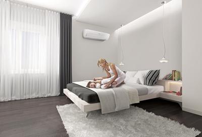 Tận hưởng bầu không khí thoải mái, dễ chịu với máy điều hòa Digital Inverter 8 cực của Samsung