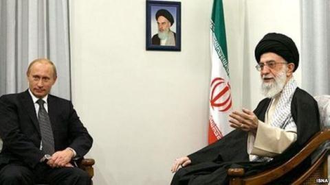 Tổng thống Putin gặp gỡ Lãnh tụ tinh thần tối cao Iran - một thực thể mà Mỹ luôn cho là đối nghịch