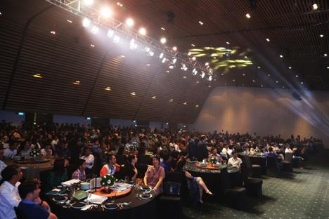 Sự kiện giới thiệu dự án Đông Nam 1 – khu đô thị Vạn Phúc thu hút gần 1,000 khách hàng đến tham dự.