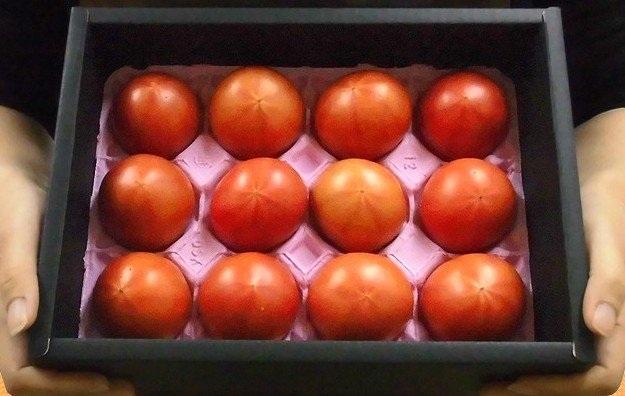 Giá bán của loại cà chua muối Hoàng gia Nhật Bản lên tới 1,6 triệu đồng/kg