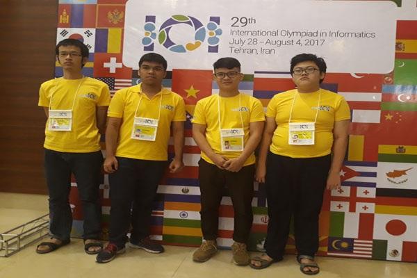 Việt Nam đoạt Huy chương Vàng Olympic Tin học quốc tế - 2