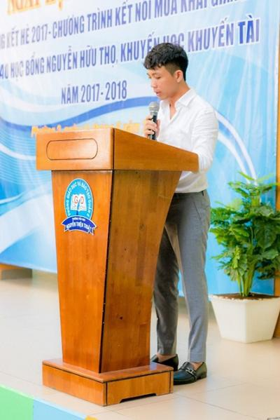 Phó TGĐ Điều hành Long Thành có nhiều chia sẻ ý nghĩa lại ngày hội.