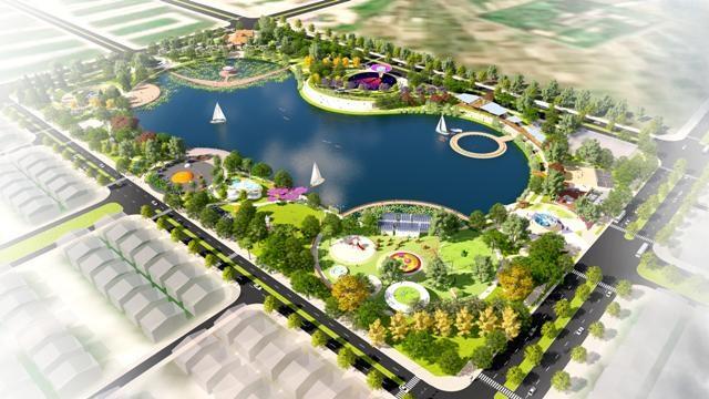 """Công viên Thiên văn học trong Khu đô thị Dương Nội – nơi diễn ra sự kiện """"Bữa tiệc ánh sáng mưa sao băng"""""""