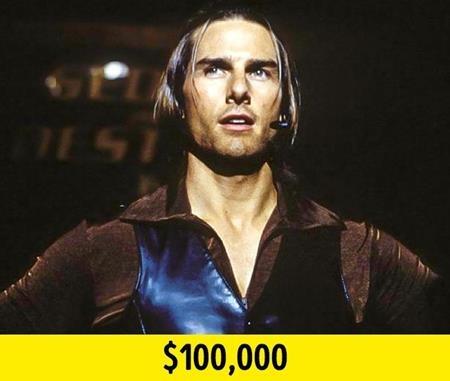 """Tom Cruise luôn là một sao nam có mức thù lao cao ngất ngưởng tại Hollywood. Thông thường, nam tài tử được trả không dưới 10 triệu đô la Mỹ cho mỗi bộ phim. Tuy vậy, Tom Cruise lại rất hứng thú với kịch bản của """"Magnolia"""" và sẵn sàng chấp nhận mức cát-xê bèo bọt là 100.000 đô la Mỹ khi tham gia tác phẩm này."""