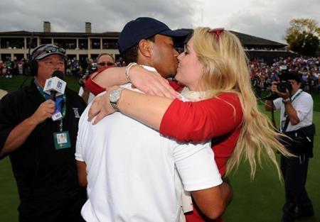 Tiger Woods và Lindsey Vonn thuở còn mặn nồng