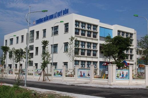 Trường Mầm non Lê Quý Đôn tọa lạc trong Khu đô thị Dương Nội đón chào năm học mới