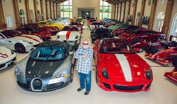 Michael Fux sở hữu 160 chiếc siêu xe đến từ các thương hiệu lớn