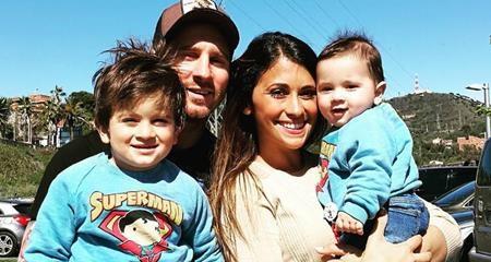 Antonella trước đó đã có hai con trai với Messi