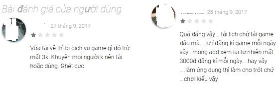 Người dùng bức xúc trước việc tự động bị đăng kí mua game