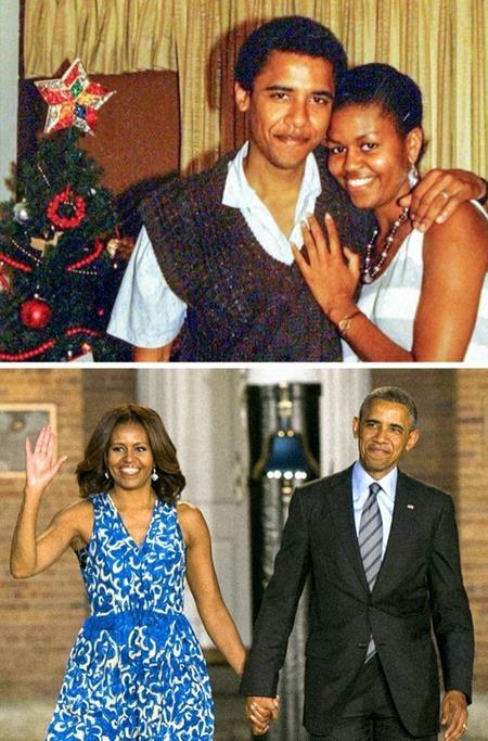 """Đằng sau sự thành công của đàn ông luôn có bóng dáng người phụ nữ và vợ chồng cựu Tổng thống Mỹ Barack Obama chính là ví dụ tiêu biểu cho câu nói này. Michelle Obama luôn cho rằng hôn nhân là một công việc toàn thời gian và bản thân cần phải khuyến khích các cặp đôi vui vẻ, tươi cười cùng nhau và dĩ nhiên là không bao giờ nên để xảy ra cảnh """"đồng sàng dị mộng""""."""
