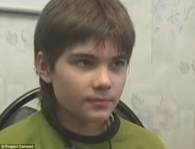 Boriska nói rằng mình là phi công trên Sao Hỏa.