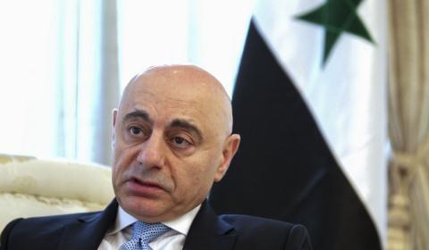 Đại sứ Syria tại Trung Quốc Moustapha được cho là có trách nhiệm mở lối cho đầu tư của Trung Quốc vào Syria