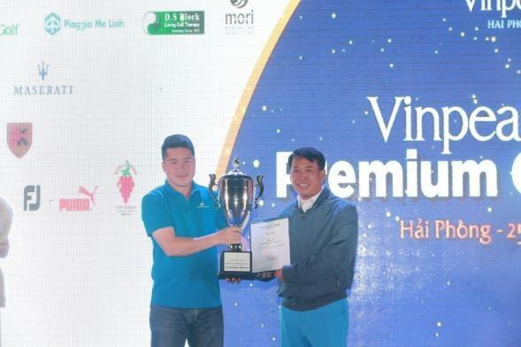 Giải Best Gross thuộc về gôn thủ Nguyễn Văn Tám
