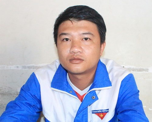Đồng chí Nguyễn Hoàng Tuấn Vũ.