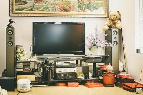 Các phương tiện giải trí trong nhà.