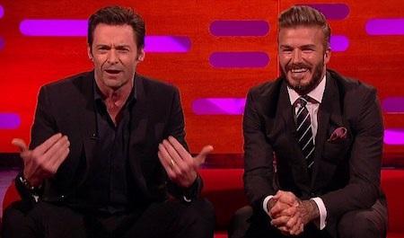 """David Beckham xuất hiện trong """"The Graham Norton show"""" hai năm trước"""
