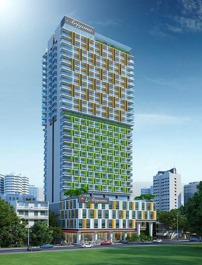 Dự án có vị trí đắc địa ngay mặt tiền đường Trần Hưng Đạo, kết nối thuận lợi với sân bay Cam Ranh và các điểm du lịch nổi tiếng của Nha Trang
