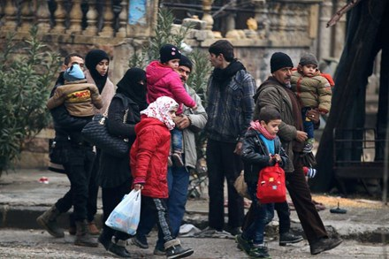 Hoà bình sắp trở lại với người dân Syria? Ảnh: ABC