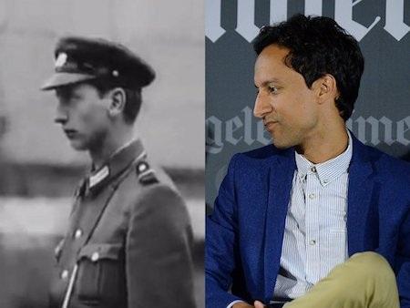 """Bản thân nam diễn viên Danny Pudi cũng đã rất ngạc nhiên khi thấy """"anh em sinh đôi"""" của mình xuất hiện trong một bộ phim tài liệu xoay quanh bối cảnh bức tường Berlin hồi năm 1962."""