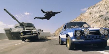 """Bộ phim """"Fast and Furious"""" luôn khiến người xem phải trầm trồ tán thưởng"""