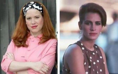 """""""Người đàn bà đẹp"""" là bộ phim đã làm nên tên tuổi cho Julia Roberts nhưng ít người biết rằng ban đầu, vai diễn trong phim được nhắm cho Molly Ringwald nhưng nữ diễn viên này lại khước từ."""