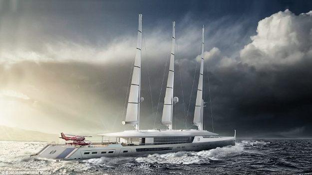 Những thiết kế siêu du thuyền mới nhất dành cho tỉ phú - 3