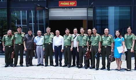Bộ trưởng Tô Lâm và các đại biểu.