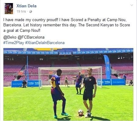 Giấc mơ được làm cầu thủ trên sân Camp Nou - 3