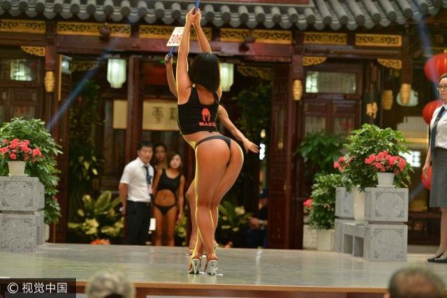 Phần thi của Gao Qian thể hiện sự tự tin lẫn tinh tế. Đó chính là điểm mạnh giúp cô chiến thắng 50 đối thủ.