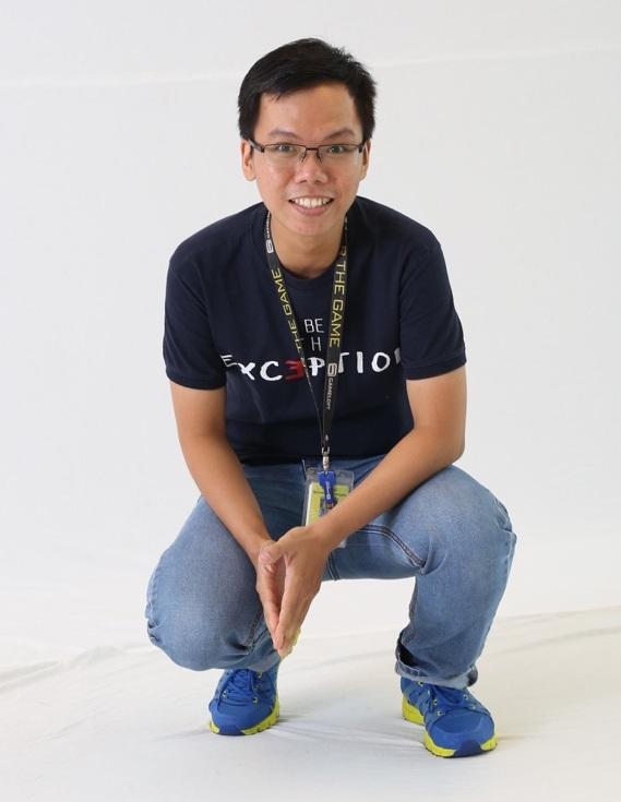 Anh Trương Minh Hiếu - chuyên viên tuyển dụng tại công ty Gameloft.