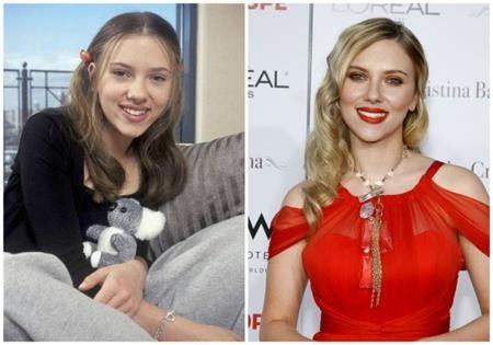 Scarlett Johansson thì từ nhỏ đã xinh đẹp và đáng yêu hết mức